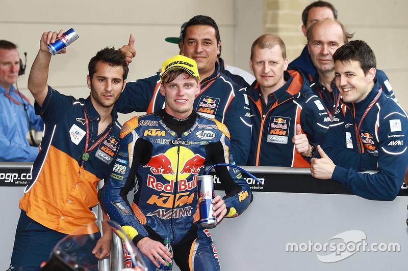 3. Brad Binder, Red Bull KTM Ajo, KTM