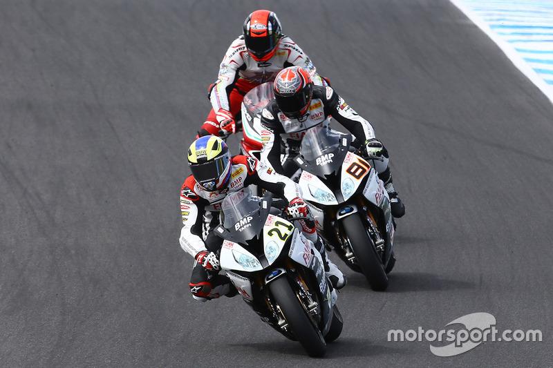 Markus Reiterberger, Althea BMW Team et Jordi Torres, Althea BMW Team