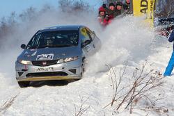 Виктор Леонтьев и Михаил Афонькин, Honda Civic
