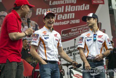 2016 Repsol Honda Team onthulling