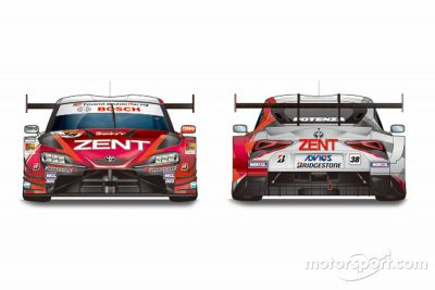 ZENT GR SUPRA livery launch