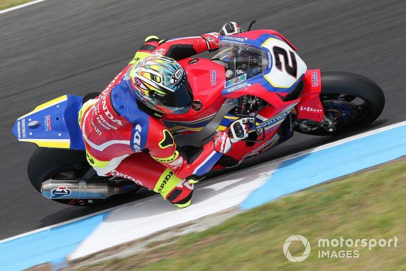 Leon Camier, Honda WSBK Team