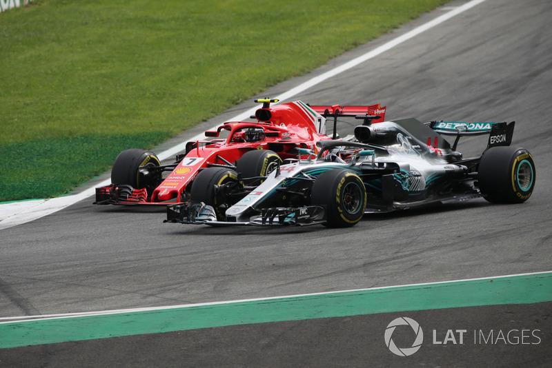 Lewis Hamilton – volta 45