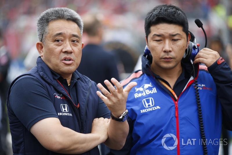 Генеральний директор Honda Motorsport Масасі Ямамото