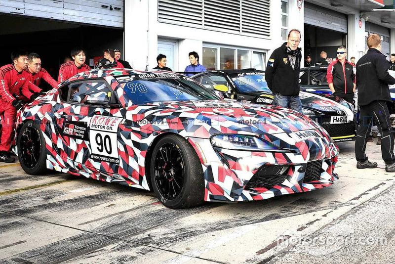 Toyota Supra - гоночна машина