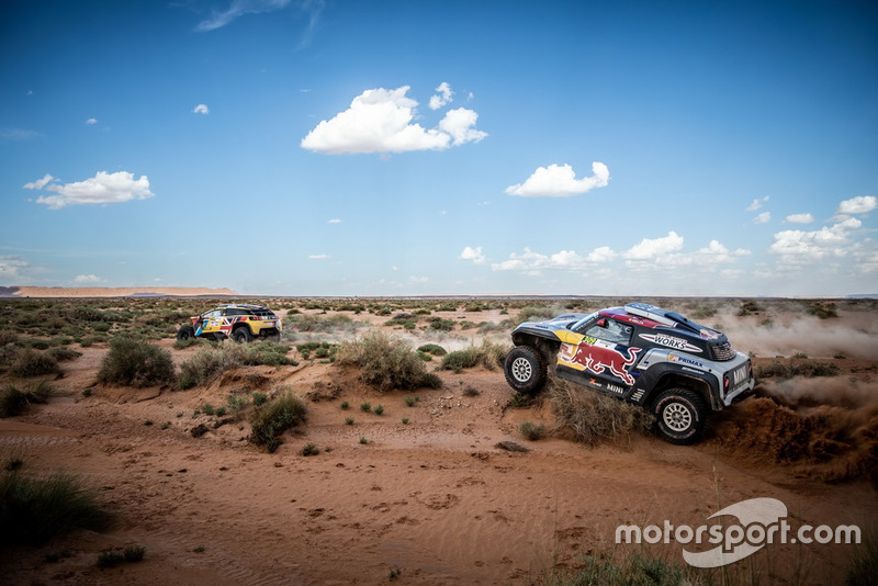 #309 X-Raid Mini John Cooper Works Buggy Team: Cyril Despres, Jean-Paul Colet