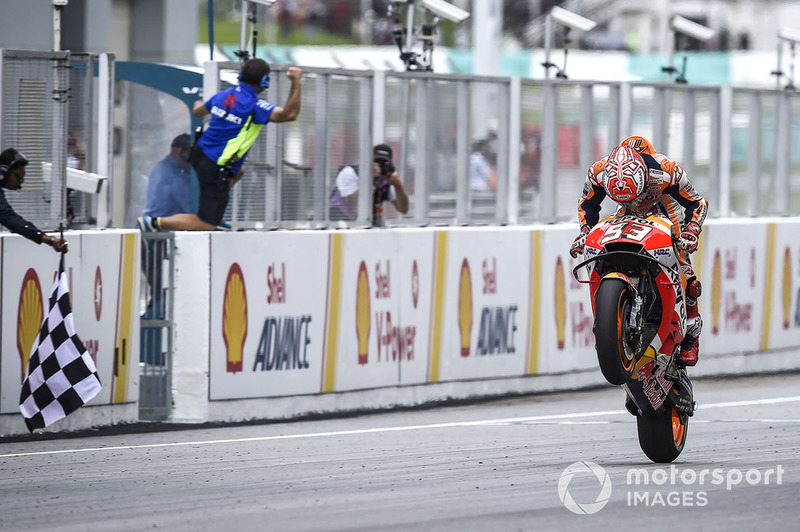 GP de Malasia: Marc Márquez, Repsol Honda Team