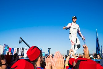 Robin Frijns, Envision Virgin Racing, segundo