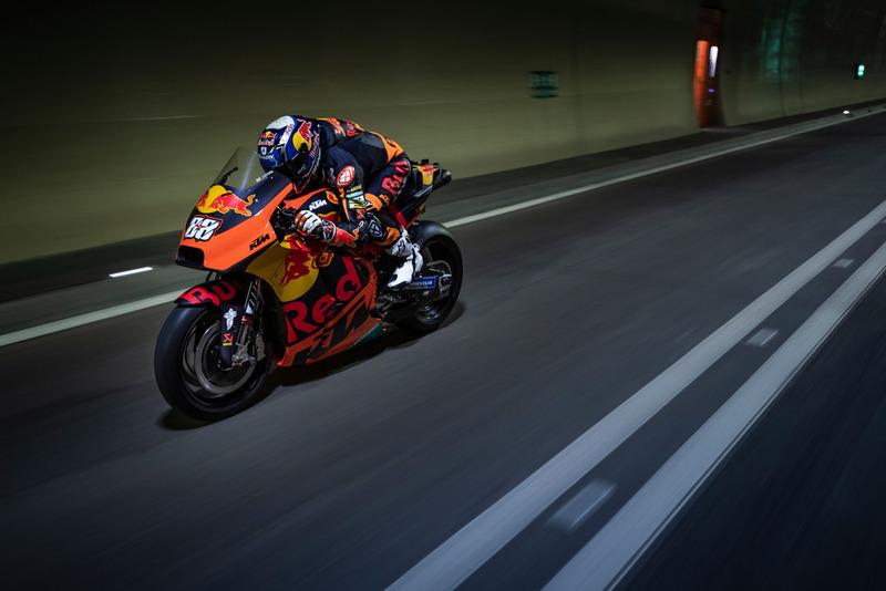 Мігель Олівейра, Red Bull KTM Factory Racing, на відкритті тунелю Глейнальм в Австрії