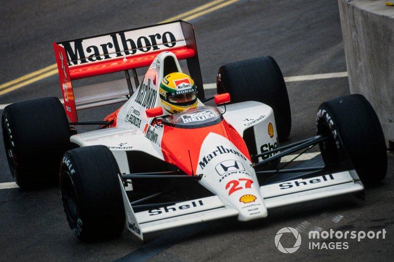 Ayrton Senna, McLaren MP4-5B Honda