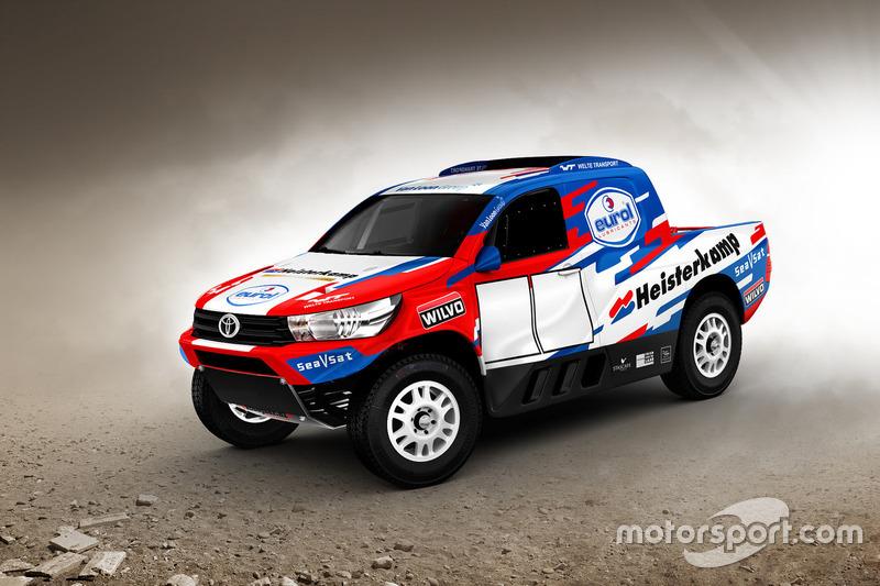 Van Loon Racing, aankondiging Dakar