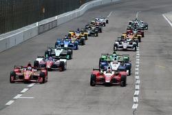 Inicio: Carlos Muñoz, Andretti Autosport Honda