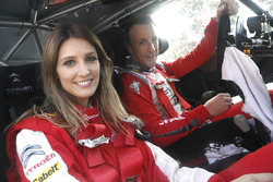 Kris Meeke, Citroën World Rally Team avec Diana Pereira