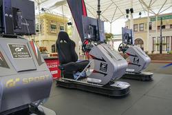 The Nissan GT Academy simulators
