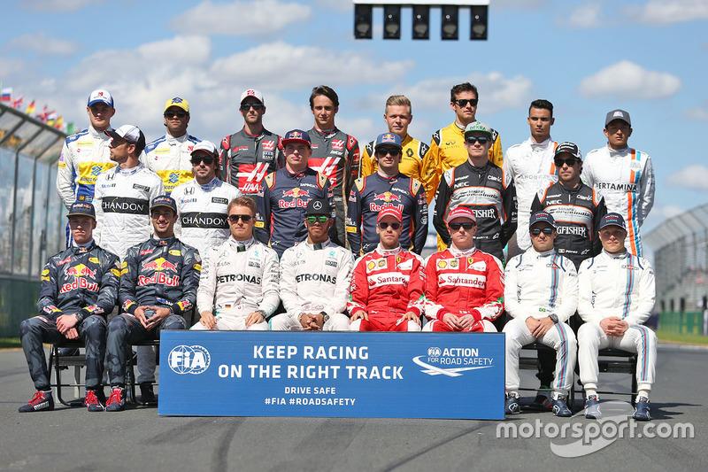 2016 Formula 1 sezonu pilotları