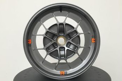 NextEV TCR/Motegi Racing, ruota in lega
