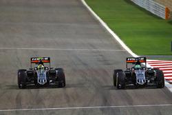 Nico Hulkenberg, Sahara Force India F1 VJM09 and Sergio Perez, Sahara Force India F1 VJM09