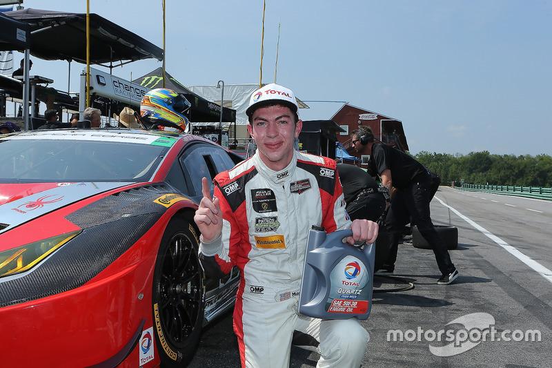 Polesitter #48 Paul Miller Racing Lamborghini Huracan GT3: Madison Snow, Bryan Sellers
