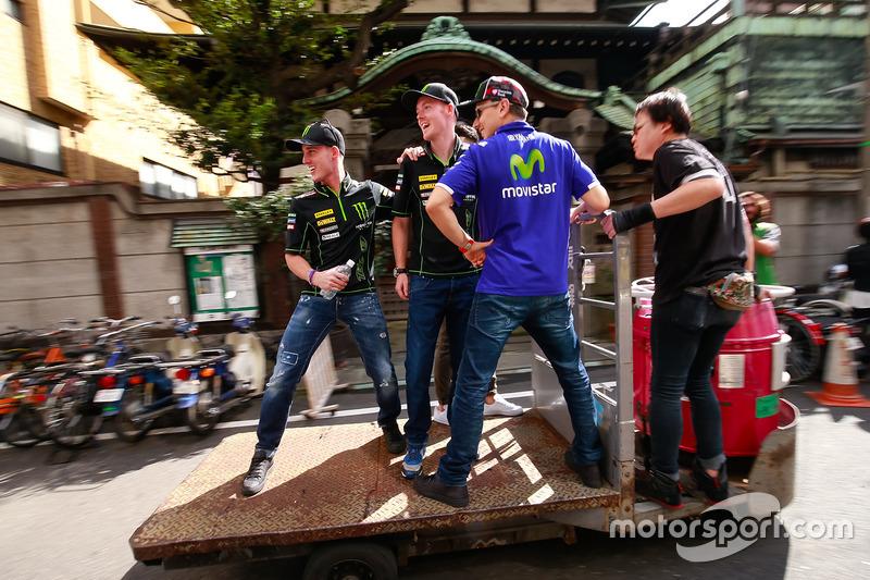 Pol Espargaro, Monster Yamaha Tech 3, Bradley Smith, Monster Yamaha Tech 3, Takaaki Nakagami, Honda