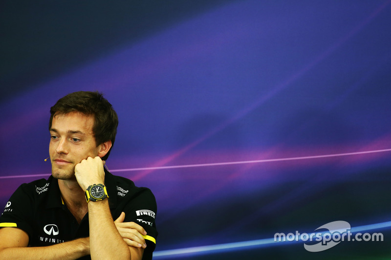 Jolyon Palmer, Renault Sport F1 Team in the FIA Press Conference