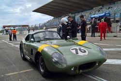 Olivier en David Hart, Shelby Cobra Daytona Coupe