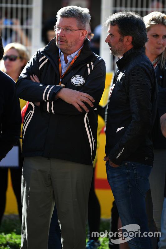 Управляющий директор Ф1 по автоспортивным вопросам Росс Браун