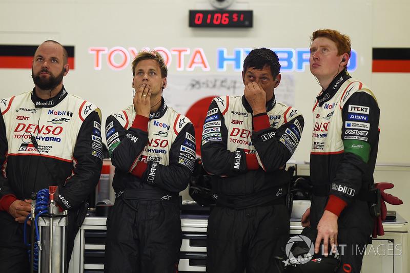 Toyota Gazoo Racing реагує на схід машини №7