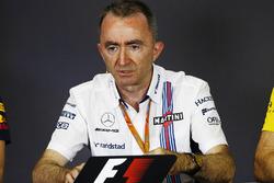 Paddy Lowe, Williams Formula 1,