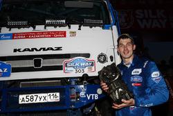 Truck winner Dmitry Sotnikov, Team Kamaz Master