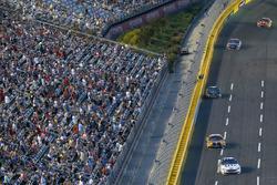 Brad Keselowski, Team Penske Ford Matt Kenseth, Joe Gibbs Racing Toyota
