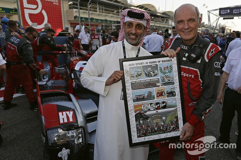 Sh. Salman bin Isa Al Khalifa und Dr. Wolfgang Ullrich