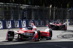 Nick Heidfeld, Mahindra Racing. leads Felix Rosenqvist, Mahindra Racing