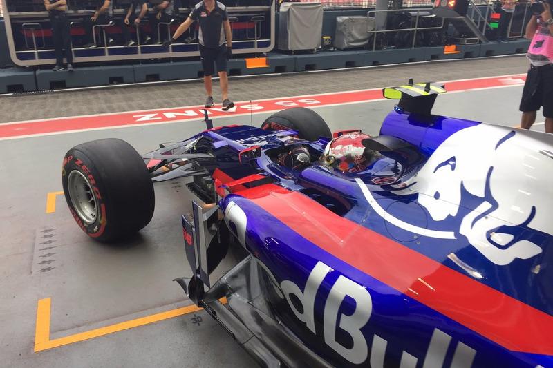 Sean Gelael, Toro Rosso STR12