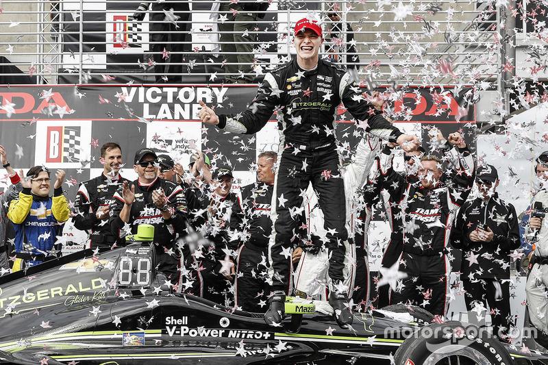 Больше всех гонок выиграл Джозеф Ньюгарден, ставший чемпионом: на его счету четыре победы