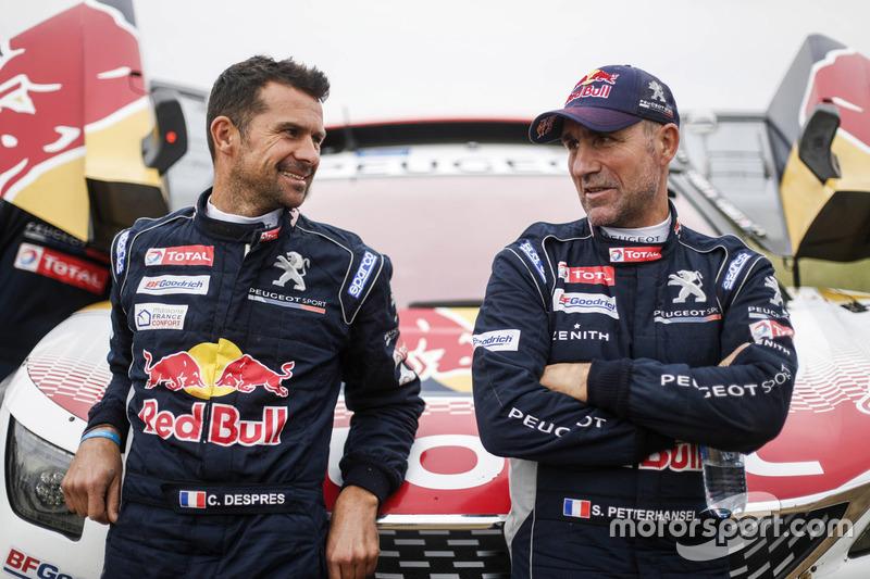 Cyril Despres, Stéphane Peterhansel, Peugeot Sport