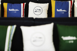 Cushions celebrating 40 years of Williams