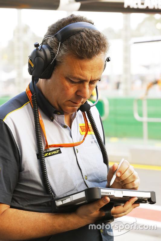Mario Isola, Manager, Pirelli Motorsport