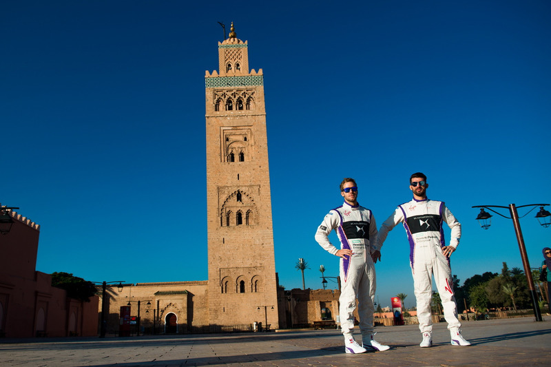 Sam Bird, DS Virgin Racing and Jose Maria Lopez, DS Virgin Racing