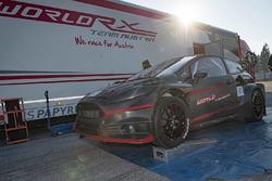 Александр Вурц тестирует World RX Team Austria Ford Fiesta