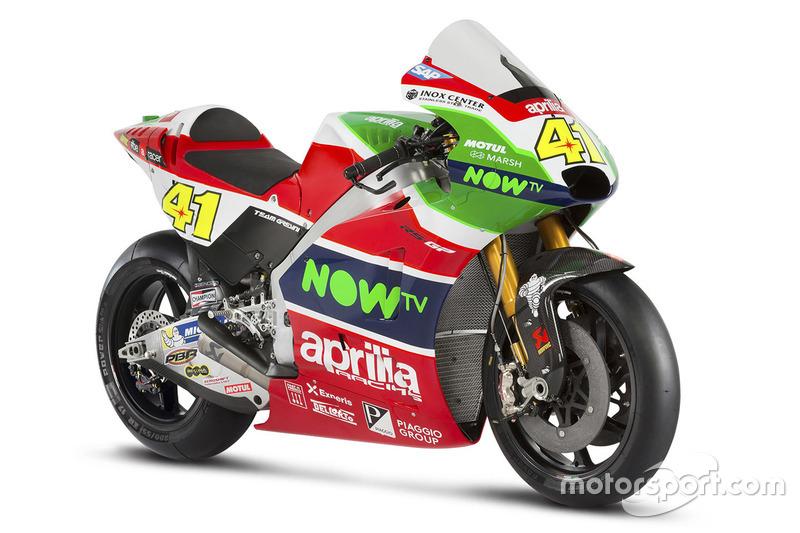 Moto de Aleix Espargaro, Aprilia Racing Team Gresini