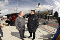 Rob Edwards and Michael Andretti