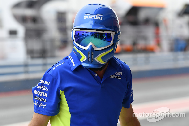 Team Suzuki MotoGP team member