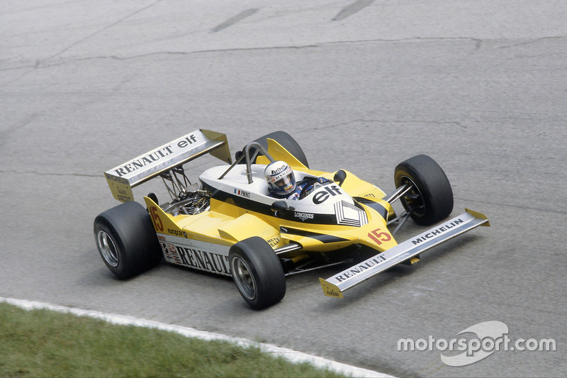 1981: Alain Prost, Renault RE30