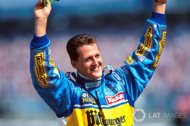 Yarış galibi Michael Schumacher, Benetton