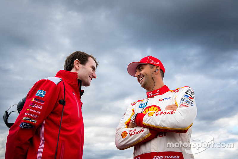 Fabian Coulthard, Team Penske, Ford, mit Ryan Story