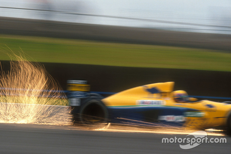 F1, Silverstone 1991: Roberto Moreno, Benetton B191