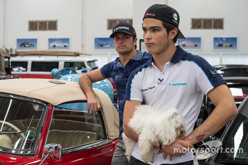 Erfolgreiche Söhne: Nelson Piquet Jr. und Pedro Piquet