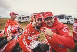 Dani Oliveras, Antonio Ramos y Miguel Puertas, HIMOINSA Racing Team