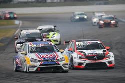 Jason Wolfe, Liqui Moly Team Engstler, VW Golf GTI TCR, Harald Proczyk, HP Racing, Opel Astra TCR