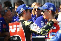Cal Crutchlow, Team LCR Honda, tweede plaats Jorge Lorenzo, Ducati Team